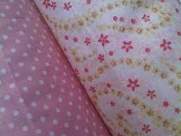 mukena katun jepang merah muda