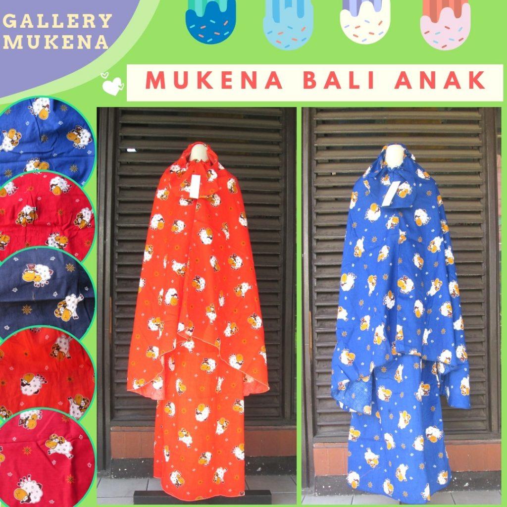 Grosiran Mukena Murah Grosiran Mukena Bali Anak Terbaru Murah di Bandung Rp.47.500