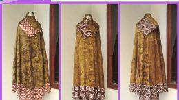 Grosiran Mukena Murah Distributor Mukena Batik Olivia Dewasa Termurah di Bandung 90Ribuan